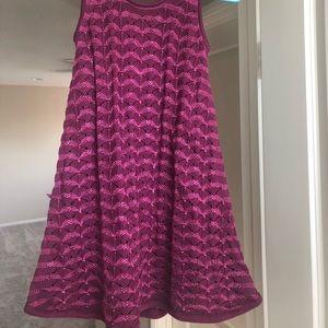 Matilda Jane chunky knit button back dress size 8.